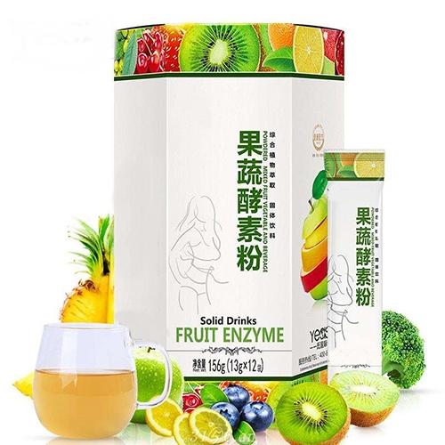 综合果蔬酵素粉固体饮料代加工